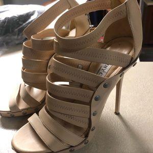 Jimmy Choo Size 37 strap/band heel